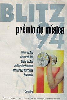 Prémios Blitz de 1994