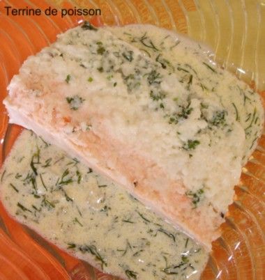 DSC00410 02 Terrine de poisson tricolore