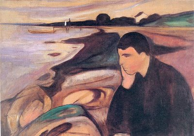 Edvard Munch, «Melancolia»
