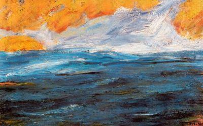 Emil Nolde, «Mar de Outono»