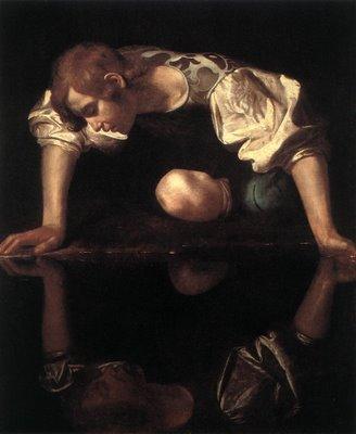Caravaggio, «Narciso»