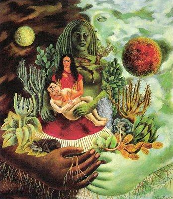 Frida Kahlo, «El Abrazo de Amor del Universo»