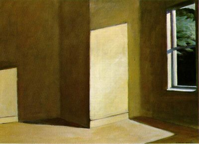 Edward Hopper, «Sun in an empty room»