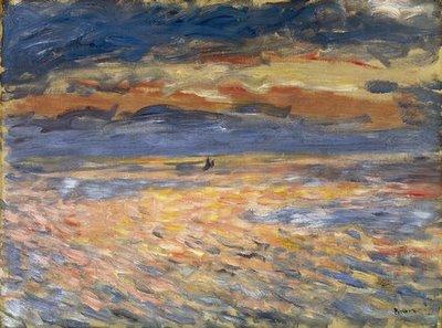 Renoir, «Coucher de Soleil»