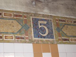 5th Ave Train Station Mosaic
