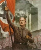 Bush as Hitler, again