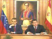 Chavez and Zapatero