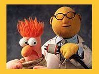 Dr Honeydew and Beaker