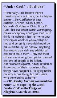 Under God Quote