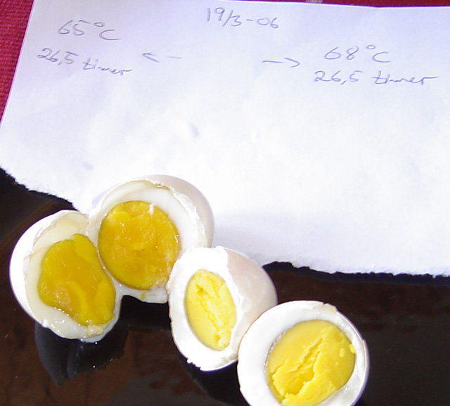 Fooducation Org Opposite Boiled Eggs Cooking An Egg With Soft White And Firm Yolk