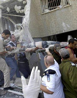 Victima del lado Israelí