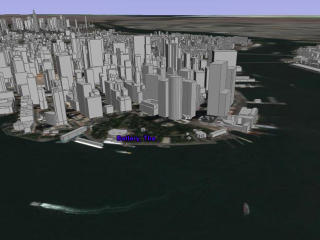 Google Earth beta - New York area