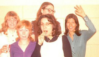 Some of my classmates from High School i New Rockfort, ND, January 1973