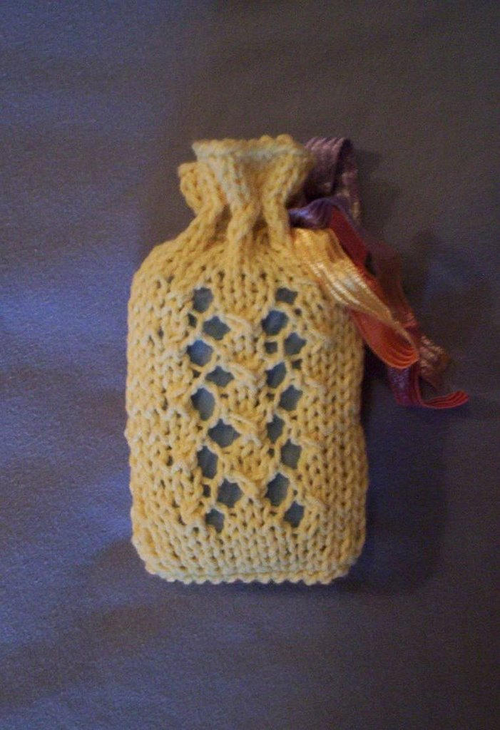 Baxterknits Soap Sack Sachet Sashay Updated With Pattern