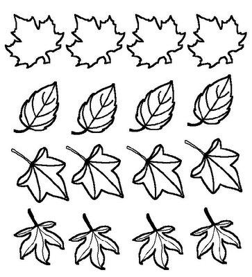 mundo encantado da nitinha desenho para colorir folhas de outono