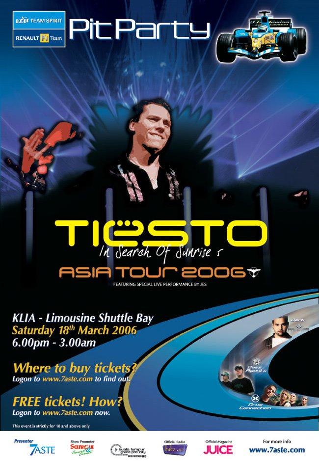 Tiesto Asia Tour 2006