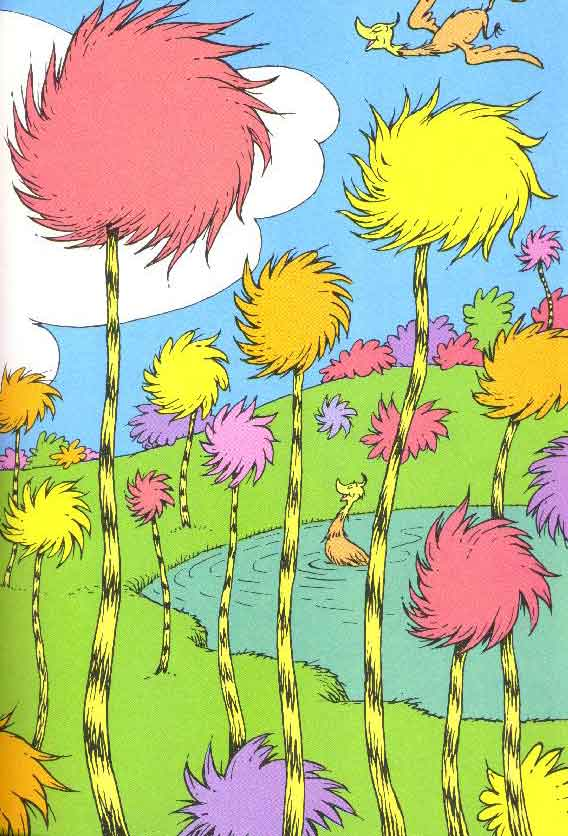 Truffula Trees on Pinterest | Lorax, The Lorax and Dr. Seuss