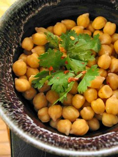 microwaved chickpeas from scratch