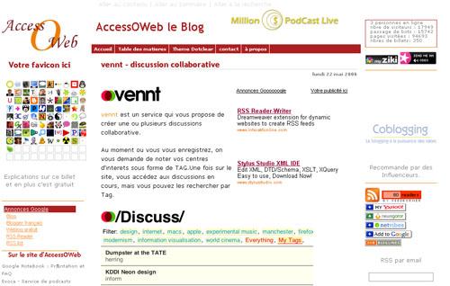 AccessOWeb le Blog