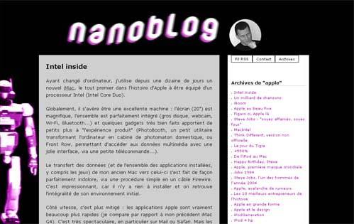 Nanoblog