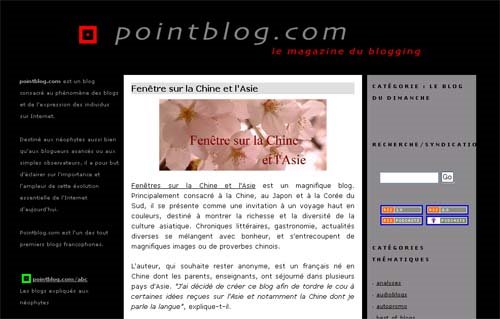 Point Blog, le magazine du blogging
