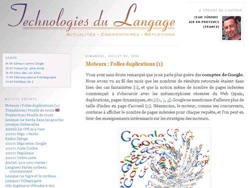 Technologies du langage