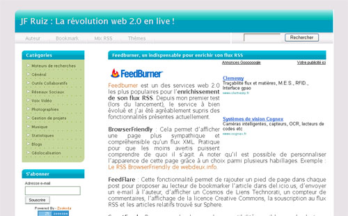 La révolution web 2.0 en live !