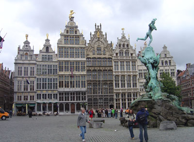 Antwerp's historic centre