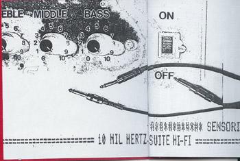 Sensorial Estereo booklet