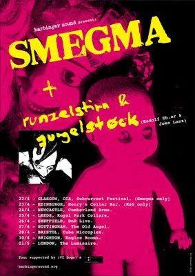 Smegma Tour Poster