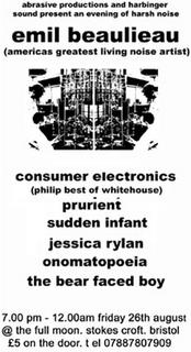 Emil Beaulieau, Sudden Infant, consumer Electronics
