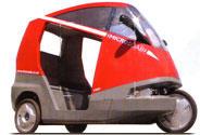 Microcab's weird wheeled pod
