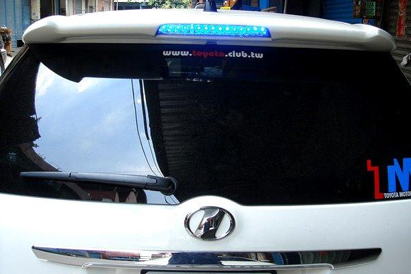 the ultimate toyota wish website blue brake lights