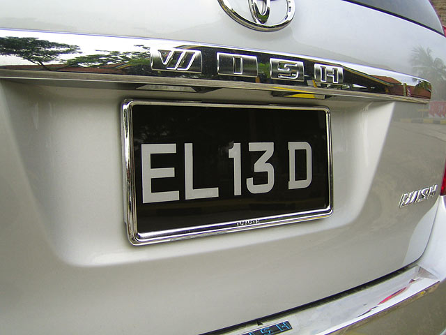 how to check if australian car plate is clean