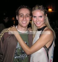 Sharone with Heidi Klum