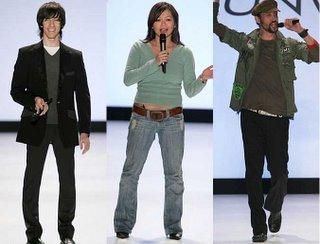 Daniel, Chloe and Santino at Olympus Fashion Week