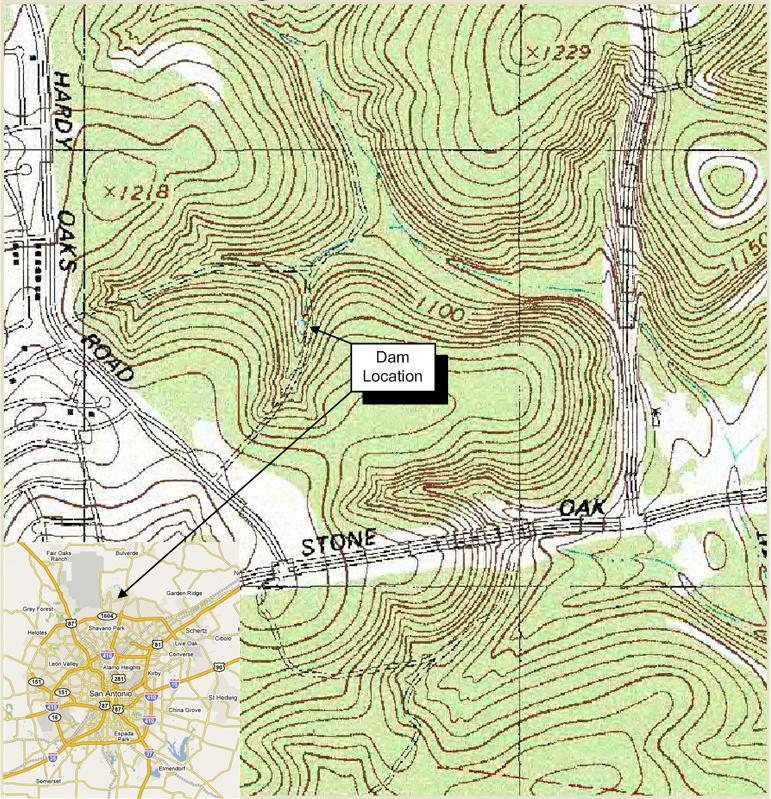 San Antonio Topographic Map Topographic Map - Texas topographic map