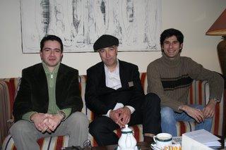 Bruno Gonçalves Pereira, John Watts e Luís Silva do Ó