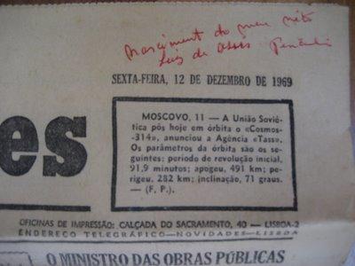 Em 1969 já existia comunicação social!