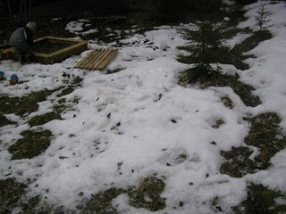 Snö trots den 16 april