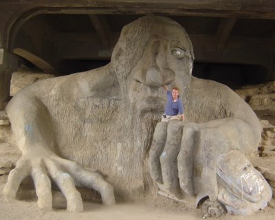 Fremont Bridge Troll