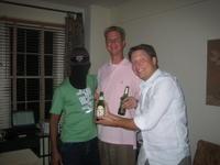 Manish (ski mask), Mike, John