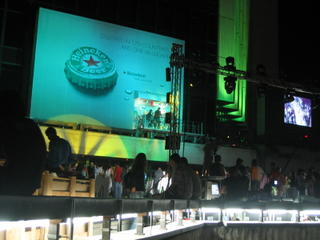 Heineken: Served in 170 countries and one billboard