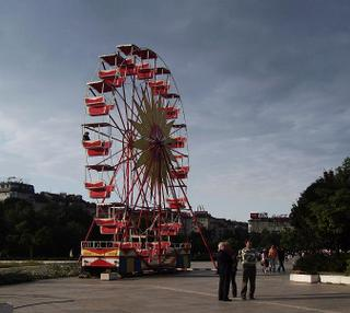 ferris wheel at NDK