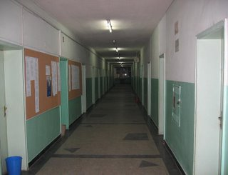 The halls of the Department of Language Learning