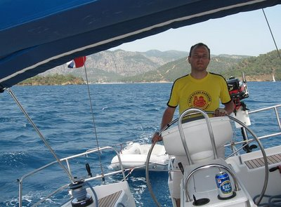 Joel at the helm
