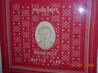 Progressive Roosevelt Battle Flag