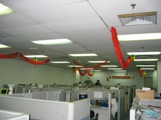 CNY decorations