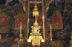 Emerald Buddha in Wat Phra Kaew Bangkok Thailand