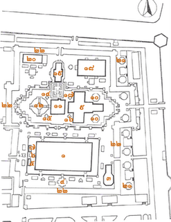 Site Map of Wat Phra Kaew - Bangkok - Thailand